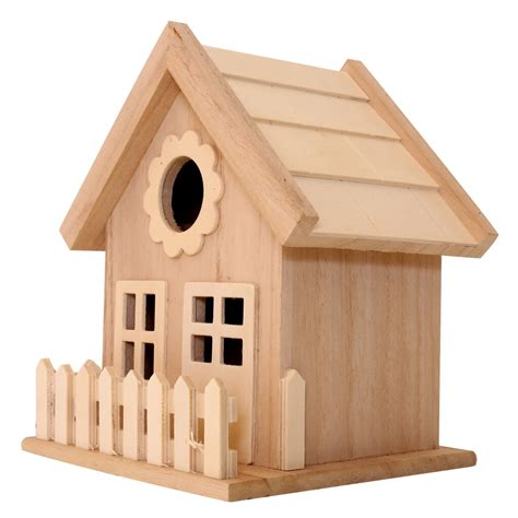 find  wood birdhouse  fence  artminds  michaels