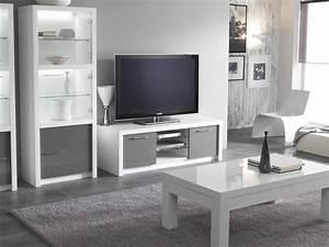 Meuble Laqué Beige : meuble tv beige blanc sammlung von design ~ Premium-room.com Idées de Décoration