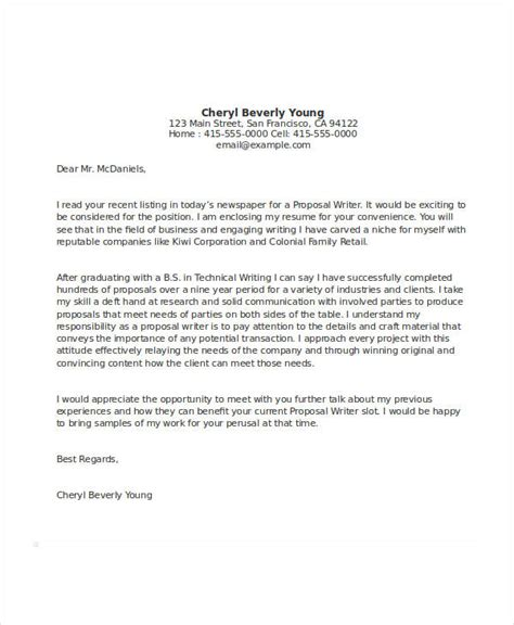 example of business letter 54 formal letter examples and samples pdf doc 21567 | Proposal Cover Example