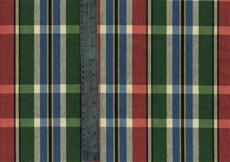 plaid drapery fabric drapery upholstery fabric green blue plaid drapery