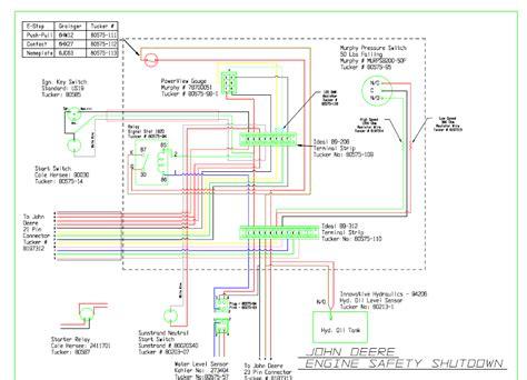 wiring diagram deere sst