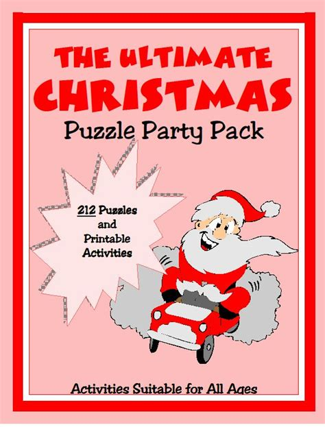printable christmas party games pack download 37 best images about and printables print and play on