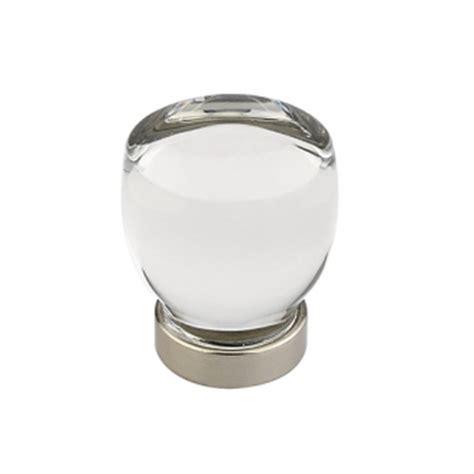 emtek 86562 juneau crystal cabinet cabinet knob low