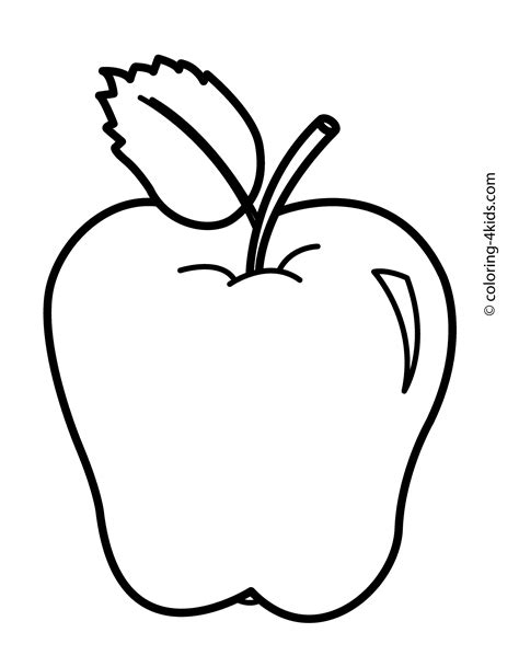 discover  great shade  apple  apple coloring pages