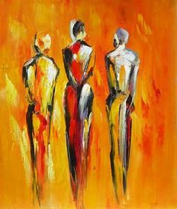 Tableau Peinture Moderne : tableau peinture moderne contemporain ~ Teatrodelosmanantiales.com Idées de Décoration