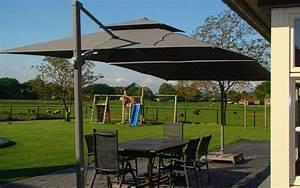 Grand Parasol Déporté : parasol d port inclinable solero fratello 3x3 ~ Teatrodelosmanantiales.com Idées de Décoration