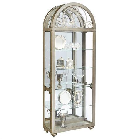 pulaski curio cabinet 21218 pulaski metallic curio cabinet ebay