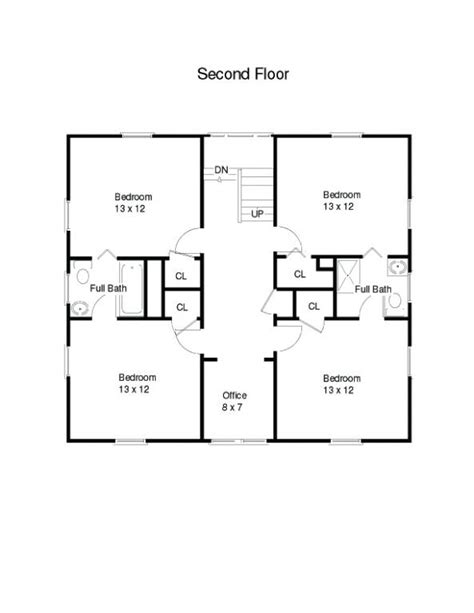 simple one house plans simple square house floor plans one square house