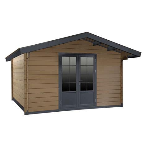 gartenhaus aus wpc gartenhaus aus wpc 28mm altholz 9m 178 woodlife mit doppelt 252 r