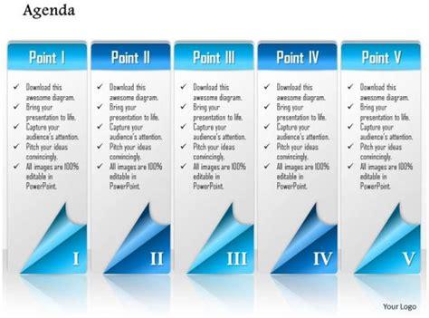 business plan  points agenda workflow powerpoint