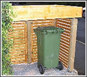 Unterstand Für Mülltonnen : m lltonnenunterstand gebaut andere sichtweise ~ Lizthompson.info Haus und Dekorationen