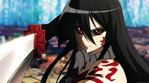 Angry Akame Battle Akame Ga Kill Picture Applebear123