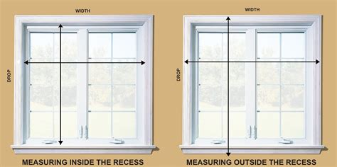 window blinds installation   measuring accurately