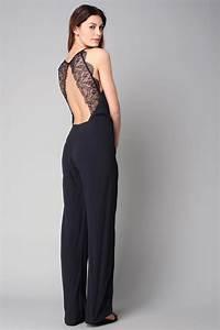 Combinaison Pantalon Femme Habillée : 25 combi pantalon porter pour un mariage carnet de ~ Carolinahurricanesstore.com Idées de Décoration