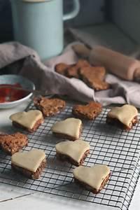 Lebkuchenherzen Selber Machen : gef llte lebkuchen mit marmelade weihnachtspl tzchen mit diamant zucker 6 ~ Frokenaadalensverden.com Haus und Dekorationen