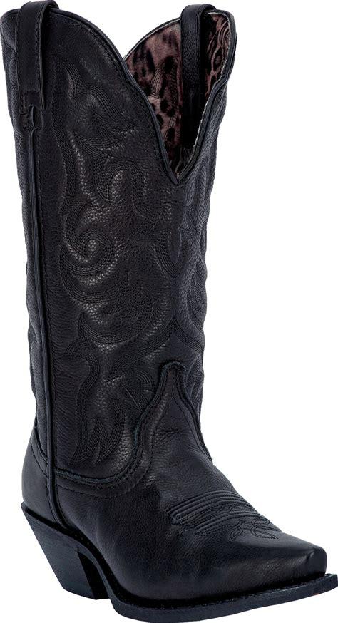 laredo womens access cowboy boot black