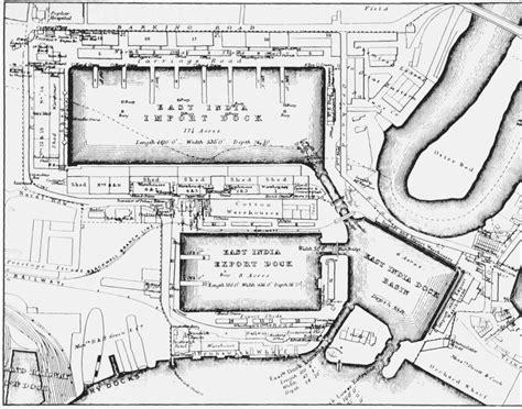 east india docks historical development british