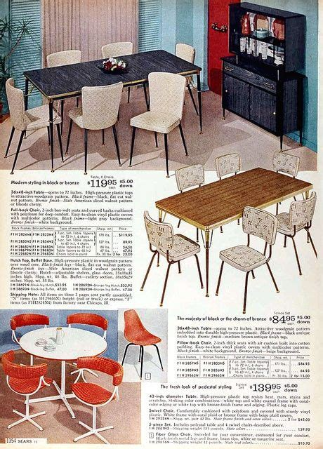 Sears Kitchen Furniture by Sears Catalog Furniture 1960 Sears 1960 Fall Catalog