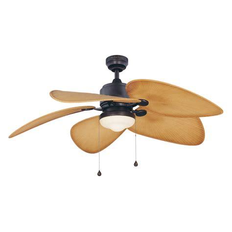 52 outdoor ceiling fan shop harbor breeze 52 in freeport aged bronze outdoor