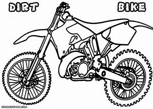 dirt bike coloring pages chronicles network With honda 500 dirt bike