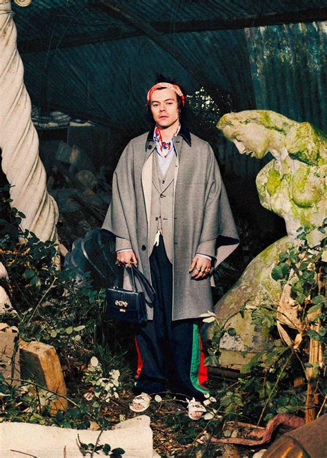 harry styles gucci pre fall tailoring ad campaign