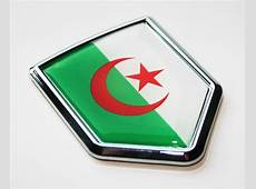Nationality Flag Crest Chrome Emblems Fast Shipping
