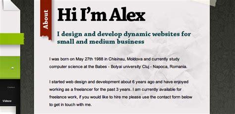 inspirational website introductions webdesigner depot