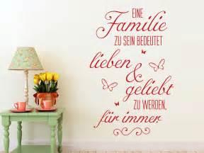 Wandtattoo Eine Familie Zu Sein Bedeutet