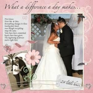 wedding scrapbook wedding scrapbook layouts