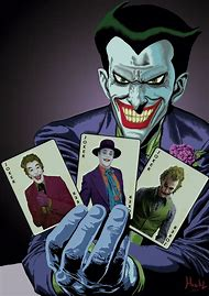 Batman Animated Series Joker Card
