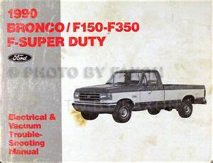 1985 Ford F350 Ignition Wiring Diagram : 1990 ford pickup electrical troubleshooting manual bronco ~ A.2002-acura-tl-radio.info Haus und Dekorationen