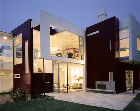 exterior house decor residence in los angeles california by abramson teiger