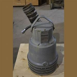 Flygt 6 In  Submersible Pump For Sale