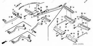 Honda Atv 2003 Oem Parts Diagram For Pedal    Step