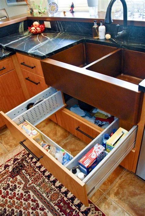 wall kitchen sink creative sink storage ideas hative new 6930