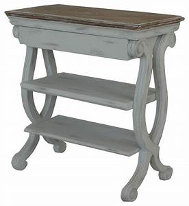 cottage magazine table white beach style side tables With white beach style coffee table