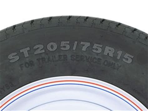 Boat Trailer Tires Sizes by Measuring A Trailer Tire Etrailer