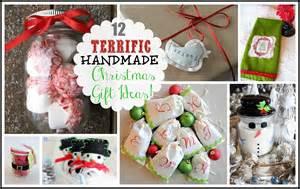12 terrific handmade christmas gift ideas craft o maniac