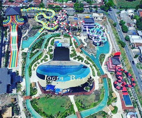 jogja bay waterpark terbesar  indonesia