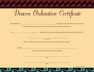 deacon ordination certificate brother parable With deacon ordination certificate template