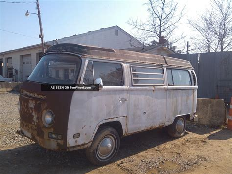1970 volkswagen vanagon 1970 vw bus westfalia all there but rough fixable