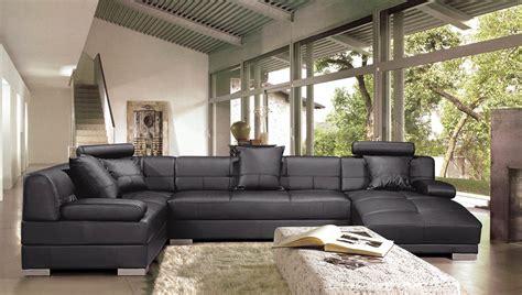 canapé d angle bois canapé d 39 angle cuir et bois