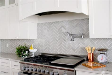 Modern White Kitchen Ideas - design trends 7 ways to use herringbone in your kitchen fireclay tile