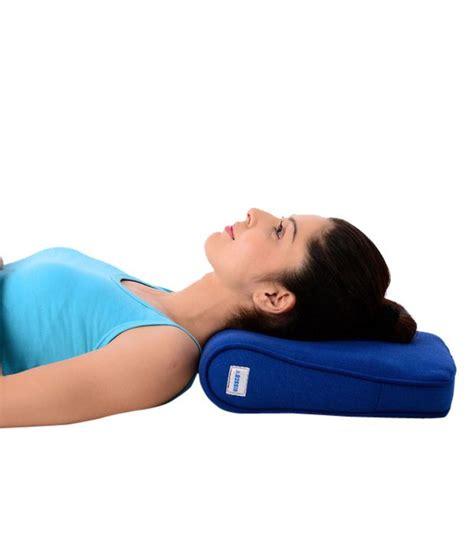 cervical pillow vissco orthopaedic deluxe cervical pillow cervical