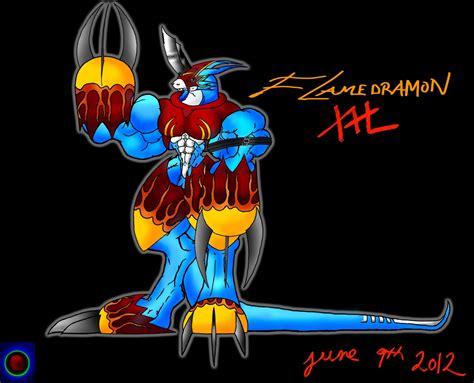 Flamedramon Xxl By Xvmon On Deviantart
