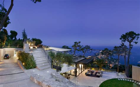 sea bathroom ideas luxurious bayview villa in villefranche sur mer