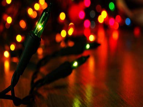 Hd Christmas Lights Wallpaper