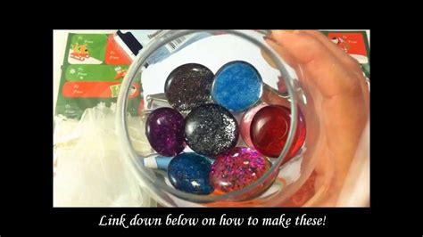 cute christmas gift idea  nail polish gems youtube