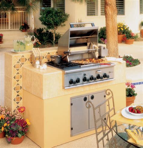 ge monogram  outdoor cooking center   grill burners  cooktop burners smoker  rack