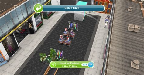 Sims Freeplay Second Floor Mall Quest by Sims Freeplay Fashion Hobby Glam Glitz Update
